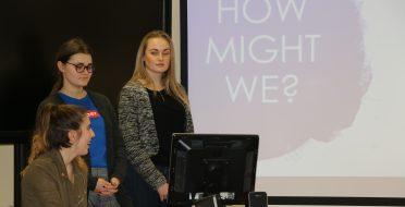 """""""Creative Lab"""" projekto ASU komandos finalinis iššūkio sprendimo pristatymas įmonei """"Itoma"""""""